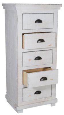 Progressive Willow White Lingerie Chest