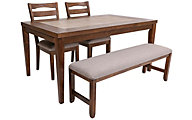 Progressive Forest Brook 4-Piece Dining Set