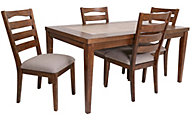 Progressive Forest Brook 5-Piece Dining Set