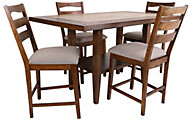Progressive Forest Brook 4-Piece Counter-Height Dining Set
