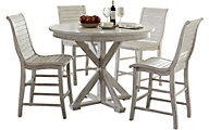 Progressive Willow 5-Piece Counter Dining Set