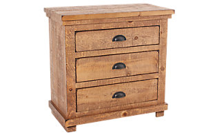Progressive Willow Pine Nightstand