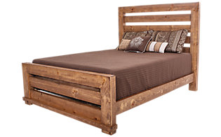 Progressive Willow Pine Queen Bed