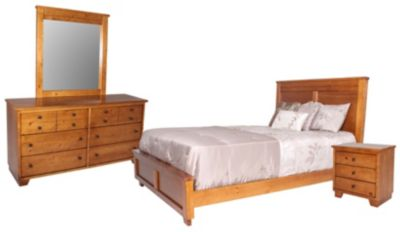 Progressive Diego 4-Piece Queen Bedroom Set