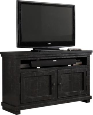 Progressive Willow Black 54-Inch TV Console