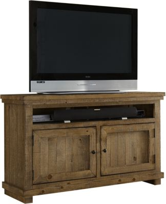 Progressive Willow Pine 54-Inch TV Console