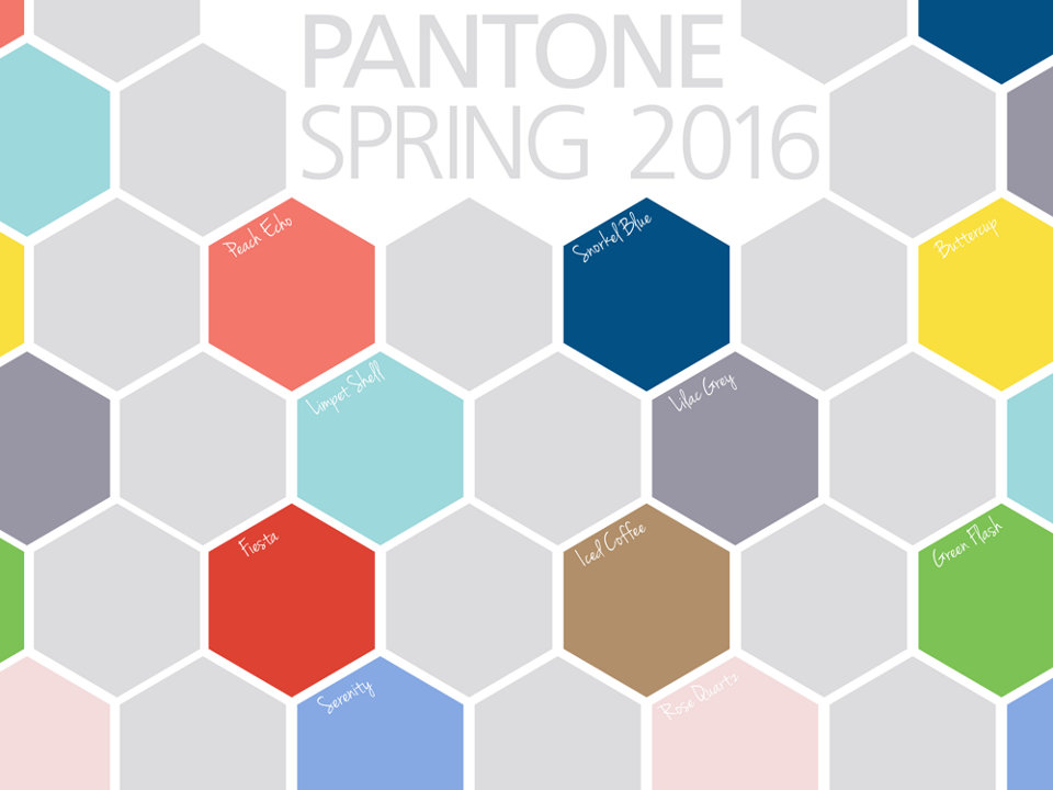 Update your home with stylish home goods featuring Pantone spring colors like Serenity, Rose Quartz and more.