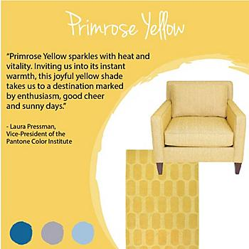 Pantone Color Series: Primrose Yellow