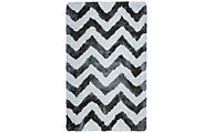 Rizzy Commons Chevron Gray 8' x 10'