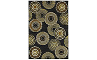 Rizzy Sorrento Black 8' x 10'