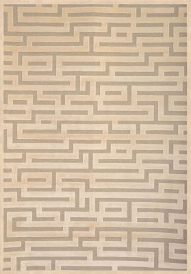 Sams International Napa Maze Beige 5' x 8'
