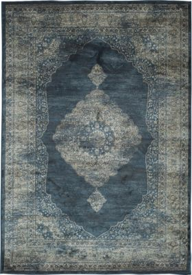 Sams International Sonoma Navy/Silver 5' x 8'