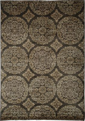 Sams International Sonoma Chocolate/Gold 5' x 8'