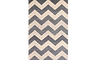 Sams International Sonoma Chevron Light Slate 5' x 8'