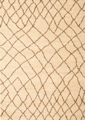 Sams International Granada Crosshatch Tan 5' x 8'