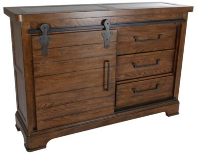 Samuel Lawrence American Attitudes Buffet with Sliding Door