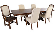Samuel Lawrence American Attitudes Table, 4 Side & 2 Arm Chairs