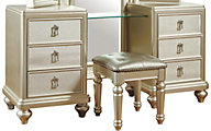 Samuel Lawrence Diva Vanity with Stool