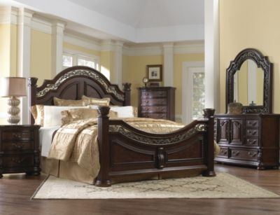 Samuel Lawrence San Marino 4-Piece King Bedroom Set