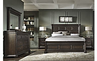 Samuel Lawrence Grand Manor 4-Piece King Bedroom Set