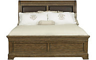 Samuel Lawrence American Attitude King Upholstered Sleigh Bed