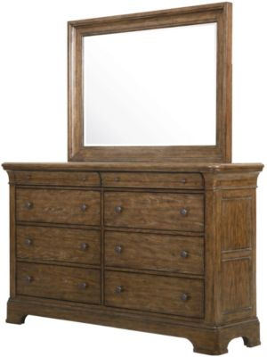 Samuel Lawrence American Attitude Dresser with Mirror