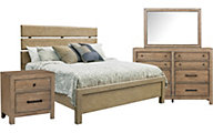 Samuel Lawrence Flatbush 4-Piece Queen Bedroom Set