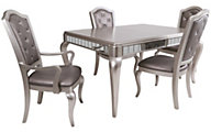 Samuel Lawrence Diva Table & 4 Side Chairs
