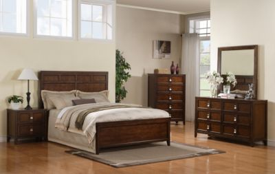 Samuel Lawrence Bayfield 4-Piece King Bedroom Set