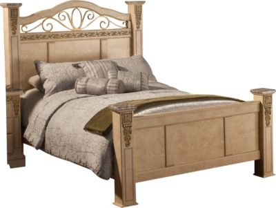 Sandberg Furniture Belladonna Palace California King Bed