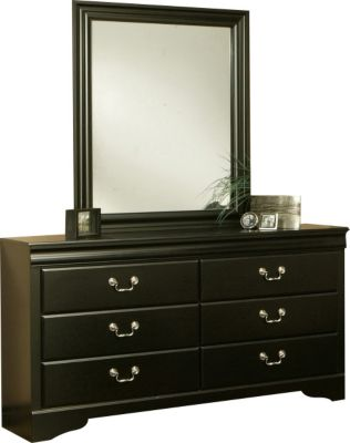 Sandberg Furniture Regency Dresser with Mirror