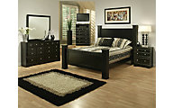Sandberg Furniture Elena 4-Piece Queen Bedroom Set