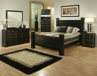 Sandberg Furniture Elena 4-Piece King Bedroom Set