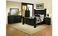Sandberg Furniture Granada 4-Piece Queen Bedroom Set