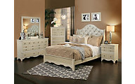 Sandberg Furniture Marilyn 4-Piece King Bedroom Set