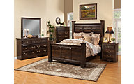 Sandberg Furniture Andorra 4-Piece Queen Bedroom Set