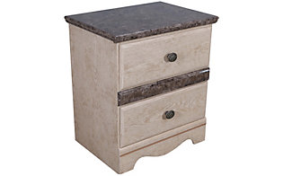 Sandberg Furniture Casa Blanca Nightstand