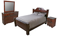 Sandberg Furniture Camden 4-Piece Queen Bedroom Set
