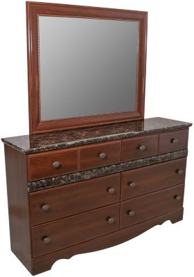 Sandberg Furniture Camden Dresser with Mirror