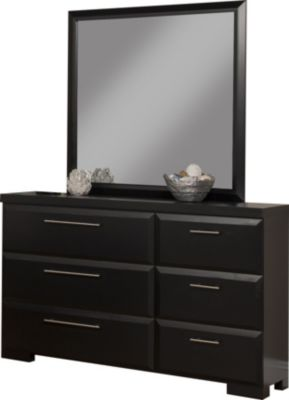 Sandberg Furniture Serenity Dresser with Mirror