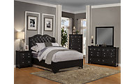 Sandberg Furniture Eva 4-Piece Queen Bedroom Set