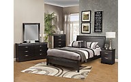 Sandberg Furniture Jolie 4-Piece Queen Bedroom Set
