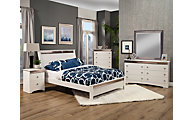Sandberg Furniture Celeste 4-Piece Queen Bedroom Set