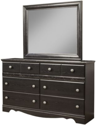 Sandberg Furniture Vienna Dresser with Mirror