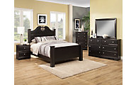 Sandberg Furniture Vienna 4-Piece Queen Bedroom Set