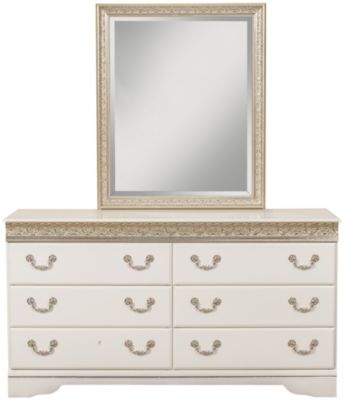 Sandberg Furniture Peyton Kids' Dresser with Mirror