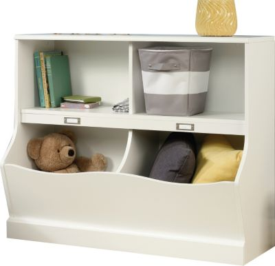 Sauder Storybrook Soft White Bookcase