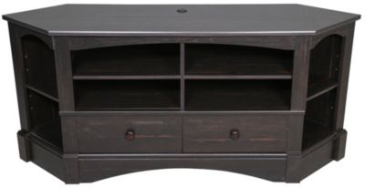 Sauder Harbor View Corner TV Credenza