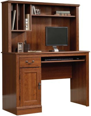 Sauder Camden County Computer Desk & Hutch