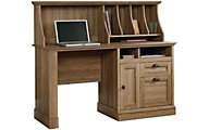 Sauder Barrister Lane Computer Desk & Hutch